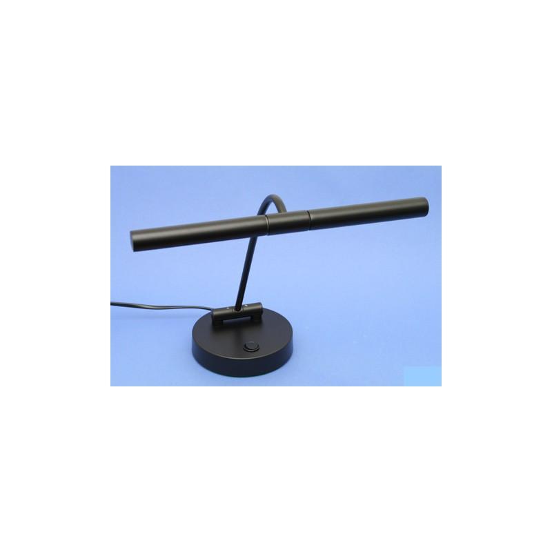 lampe pour piano droit finition noire mat eclairage halogene 2 flammes. Black Bedroom Furniture Sets. Home Design Ideas