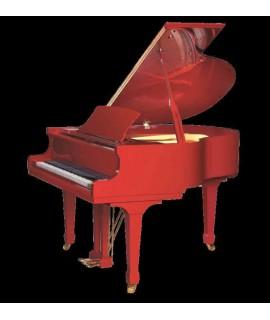 GP148 rouge brillant  - piano 1/4 de queue