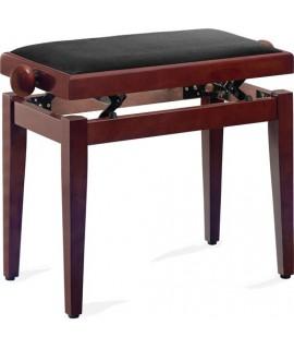 banquette piano PB40 acajou mat dessus noir