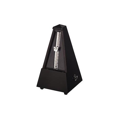 Metronome pyramidal Wittner noir mat avec cloche
