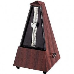 Metronome pyramidal Wittner noyer mat