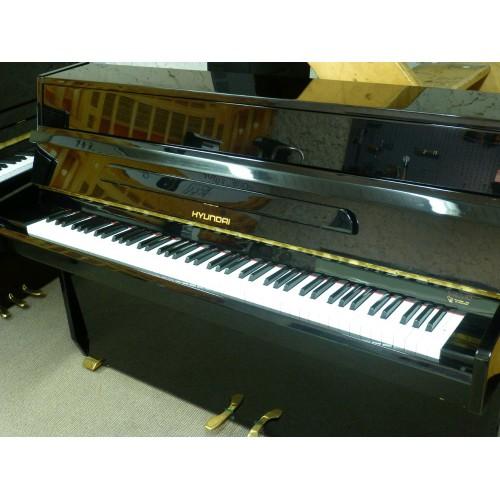 Piano droit Hyundai 108 noir verni