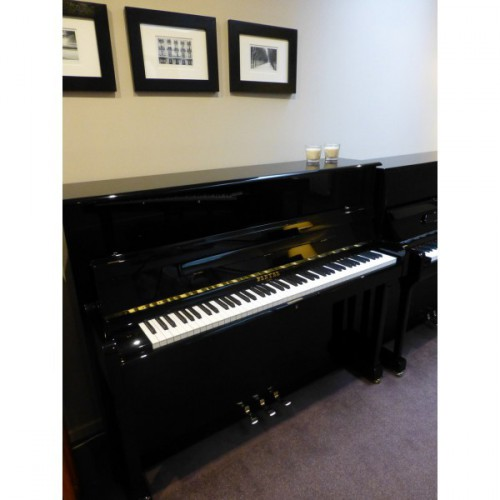 Piano d'occasion Pleyel 122 noir verni
