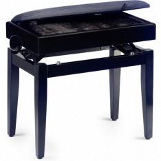 PB55 BKM VBK - banquette piano avec coffre