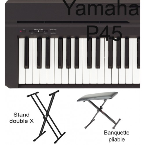 Yamaha P45 B - PACK 2