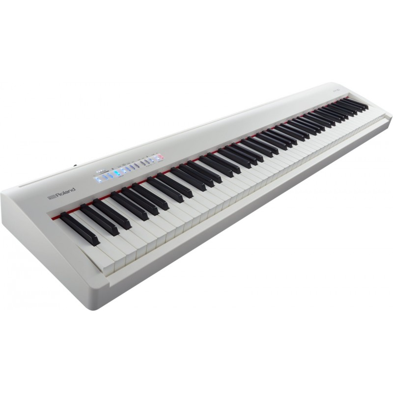 piano num rique roland fp30 existe en noir et en blanc. Black Bedroom Furniture Sets. Home Design Ideas