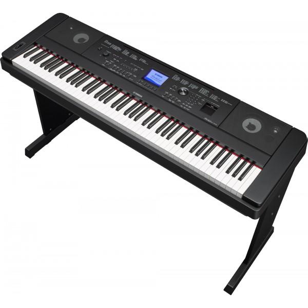 piano num rique yamaha dgx660 clavier arrangeur 88 touches. Black Bedroom Furniture Sets. Home Design Ideas