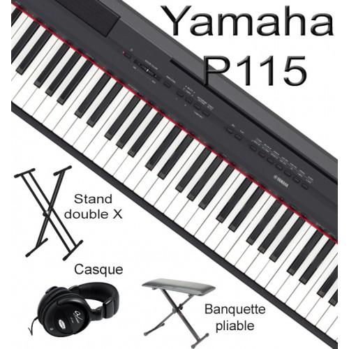 yamaha p45 b pack 1 la maison du piano lille. Black Bedroom Furniture Sets. Home Design Ideas