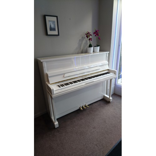 Piano d'occasion Hohner 120 blanc brillant