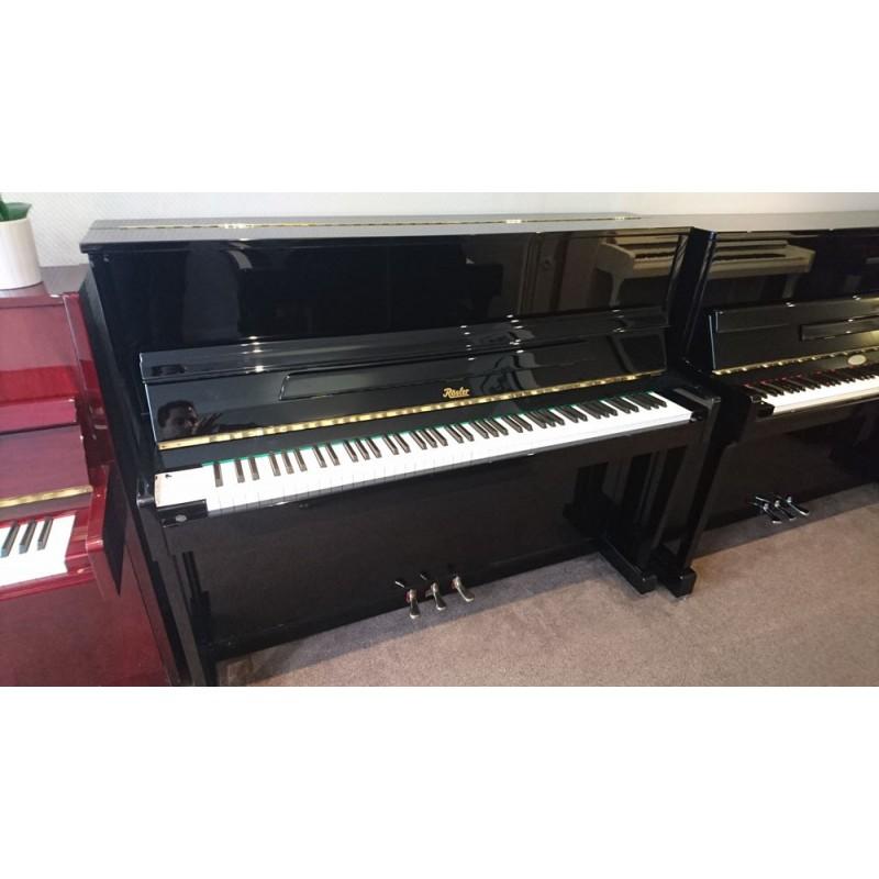 Piano droit Rosler V113 noir verni