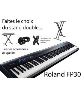 ROLAND FP30 - Piano numérique - Pack complet