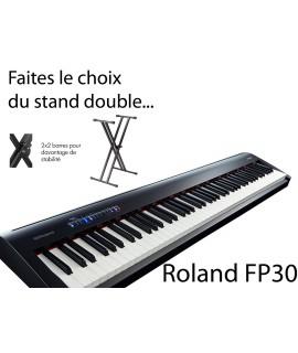 ROLAND FP30 - Piano numérique - Pack pied