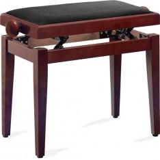 banquette piano stagg PB40MHM VBK  (acajou mat dessus velours noir)