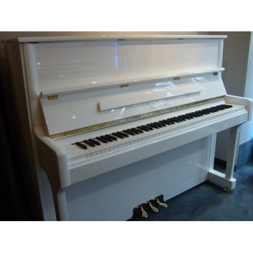 piano d'occasion Wendl&lung HL122 blanc brillant