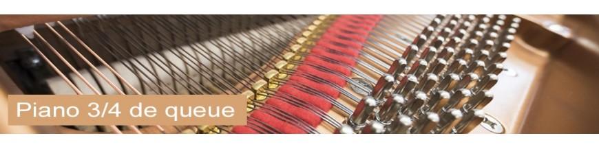 Piano 3/4 queue