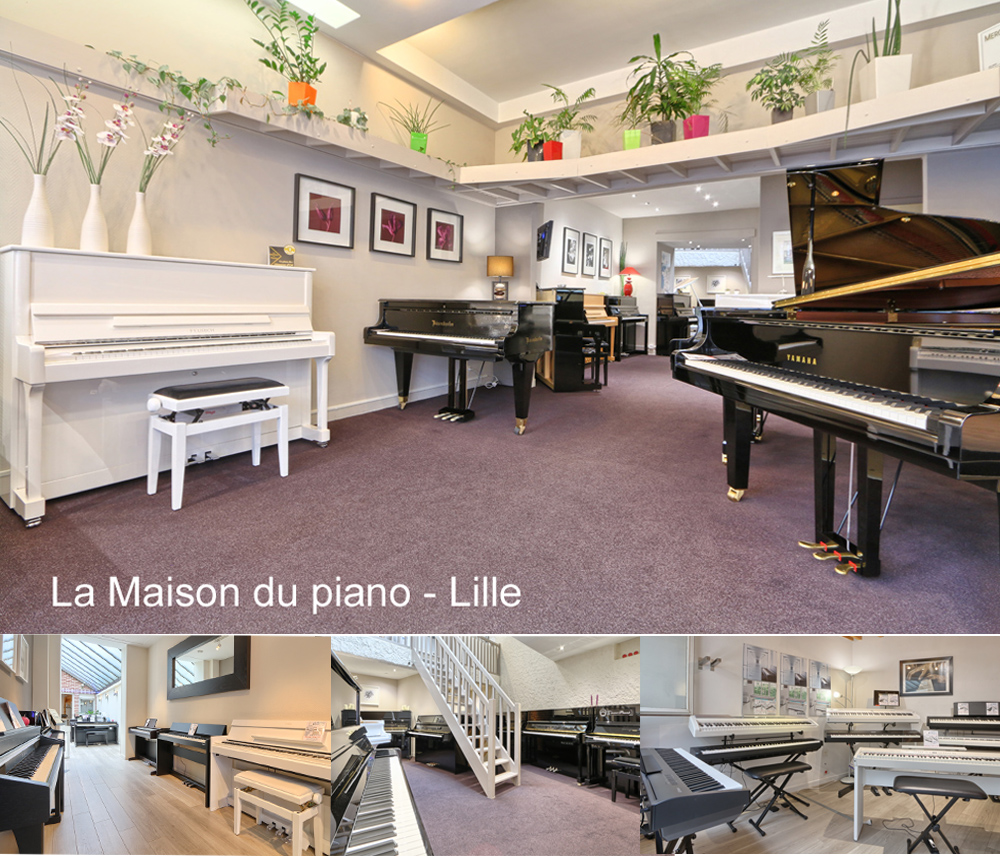 Photos de notre magasin de piano à Lille