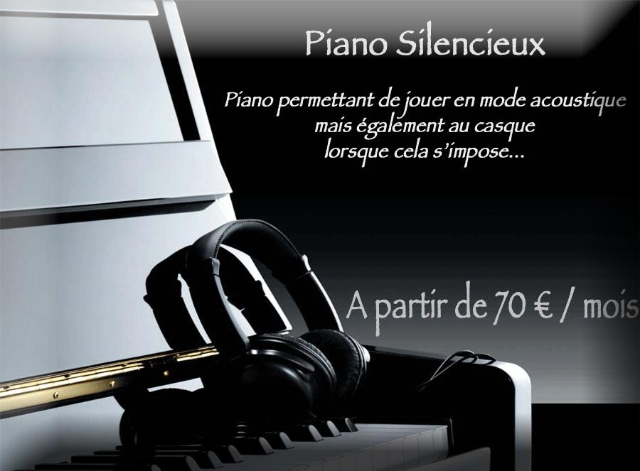 Location d'un piano silencieux avec option d'achat