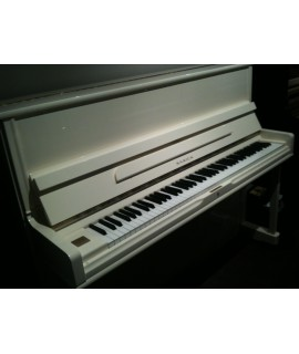 Piano droit d'occasion Samick SU118 ivoire laqué