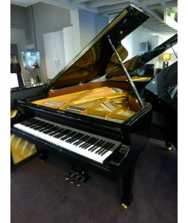 Piano 1/4 de queue Bechstein 190 noir verni
