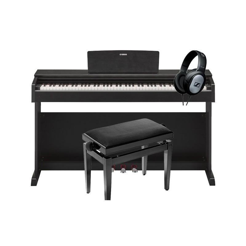 yamaha ydp143 fourni en pack avec une banquette et un casqiue. Black Bedroom Furniture Sets. Home Design Ideas