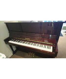 Piano d'occasion WENDL & LUNG HL122 acajou brillant