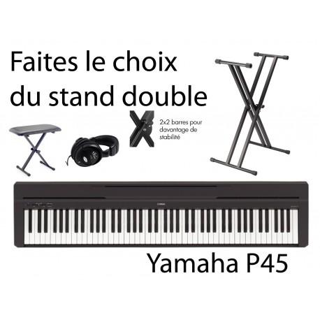 Yamaha P45 B - PACK