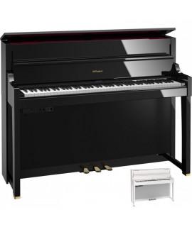 LX-17 noir brillant Roland - Piano numérique haut de gamme