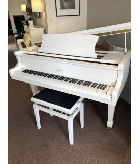 KEILBERG PR-4 blanc brillant / Piano 1/4 de queue d'occasion