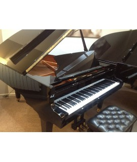 Schimmel 174 noir verni - Piano 1/4 queue d'occasion