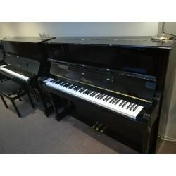 """BLUTHNER 122 Modèle """"A"""" - piano d'occasion noir verni"""