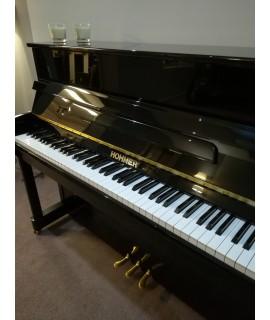 Piano droit d'occasion Hohner 110 noir verni