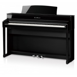 May Berlin M121 - piano d'occasion noir brillant