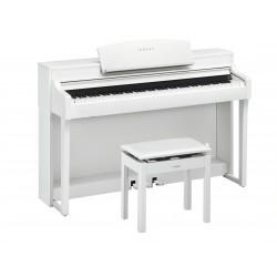 Piano d'occasion Keilberg JS115 blanc brillant