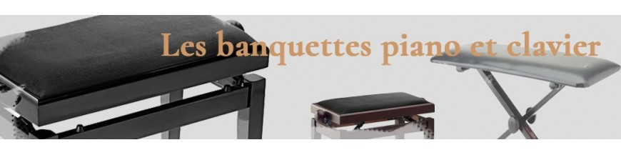 Banquettes  pianos