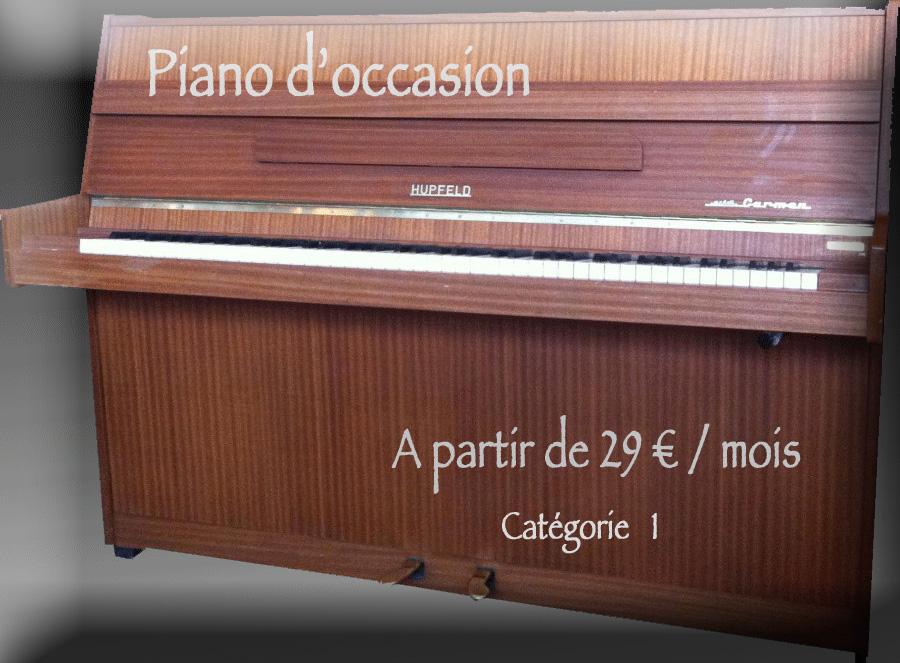 location de piano catégorie 1