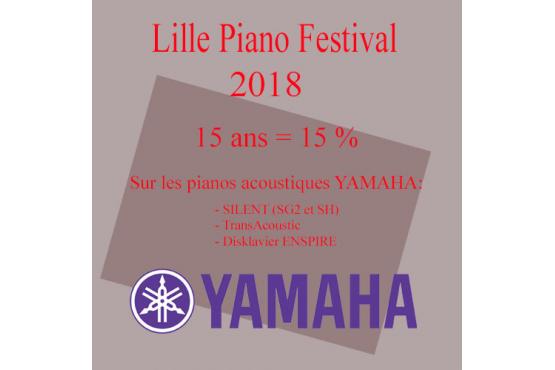 Lille Piano (s) Festival - Offre spéciale La Maison du piano